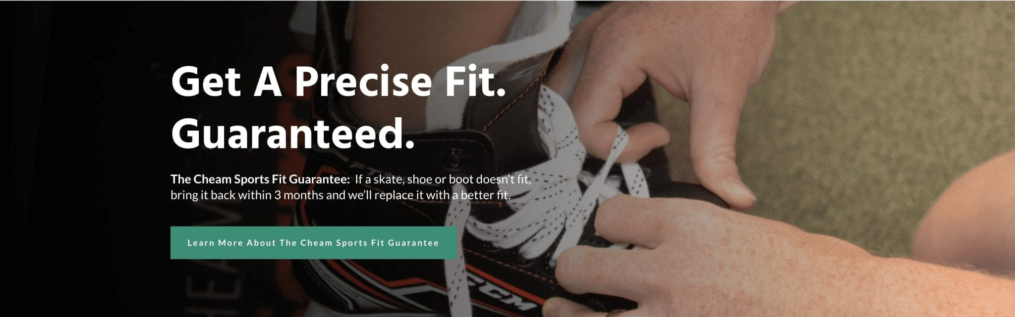 Chilliwack Marketing Case Study - Cheam Sports Fit Guarantee