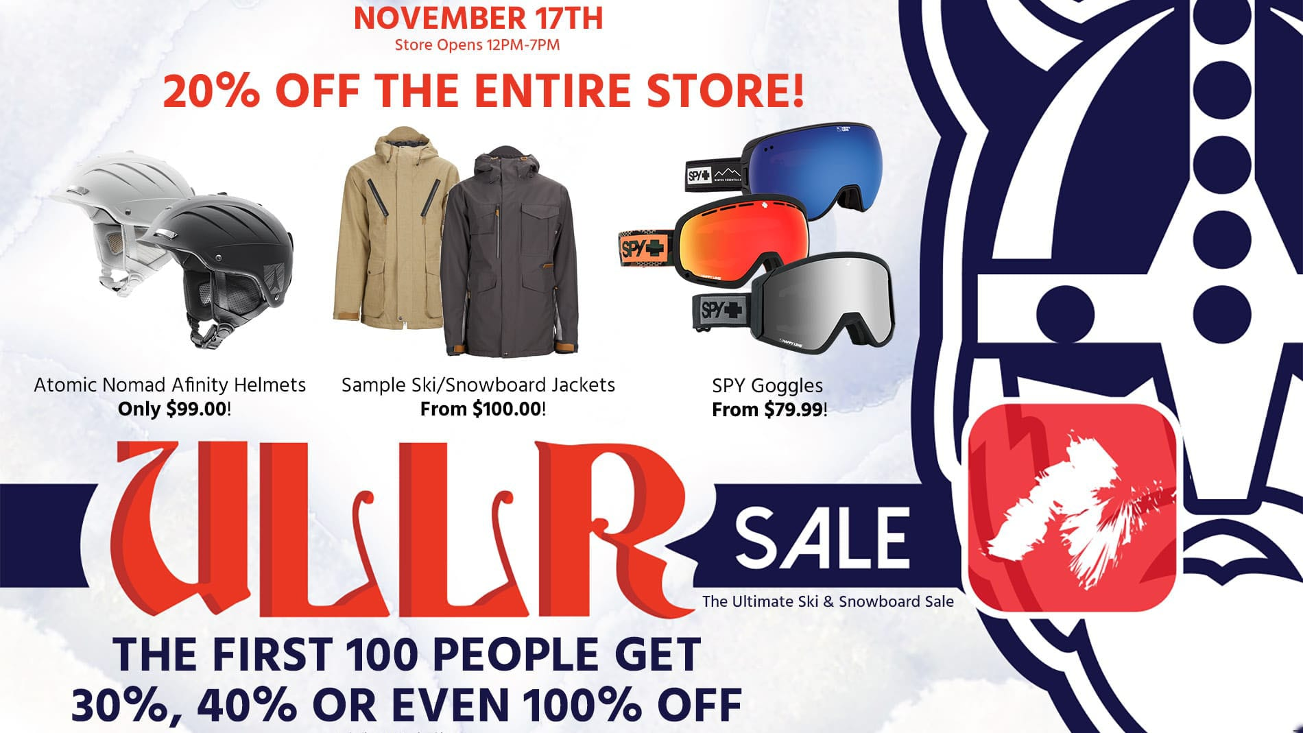 Marketing Case Study - ULLR Sale Chilliwack